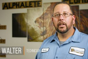 Screen shot of video of Walter Sandoval