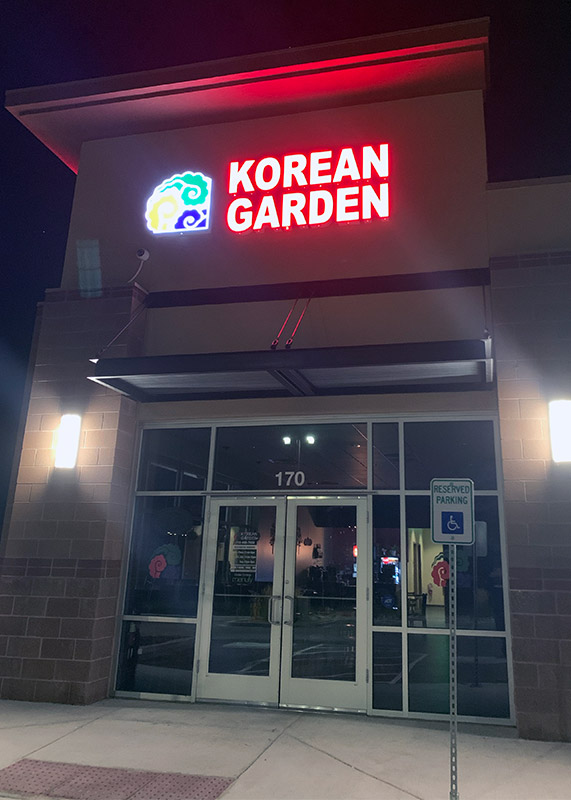 Korean Garden Restaurant in Colorado Springs